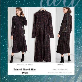 Design In Paris Zebra Print Long Dress