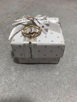 Heart Ring(new box will be given)