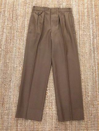 Vintage Chaps Ralph Lauren pleated wool pant