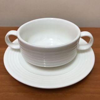 西式湯碗連托碟2套