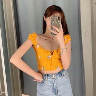 Classic AA Floral Crop Top