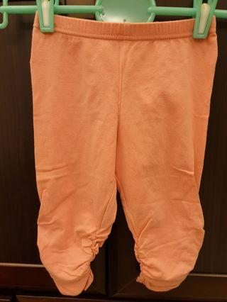 🚚 Lativ舒適棉七分內搭褲(120cm)