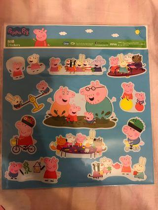 Peppa Pig stickers 貼子