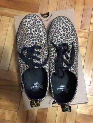 Dr.martens leopard print sneakers