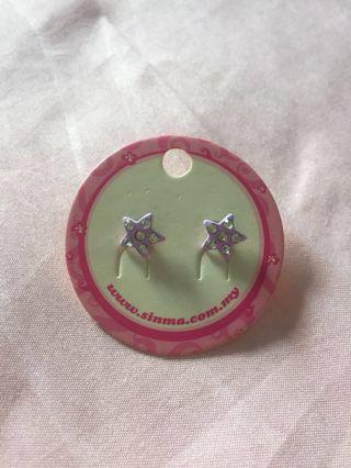 (FREE!!) Star Earrings