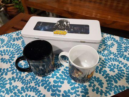 Starwars Episode III Mugs with Tin Box