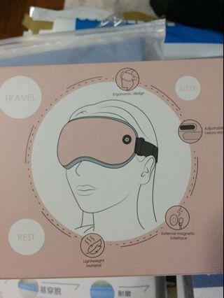 熱敷眼罩(usb叉電)淺灰色