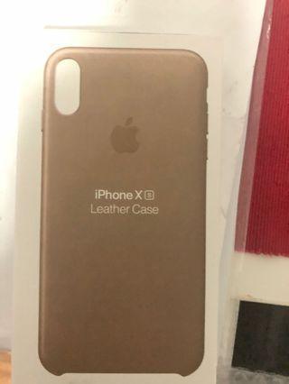 Apple Original IphoneX/XS New leather case