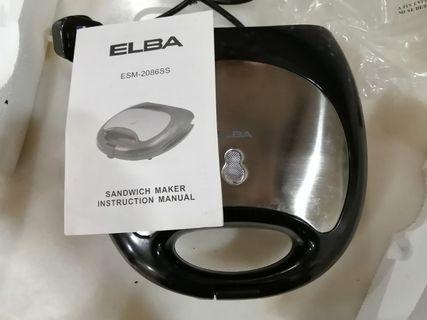 Elba Sandwich Maker ESM 2086 SS