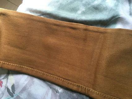 Celana panhang cokelat
