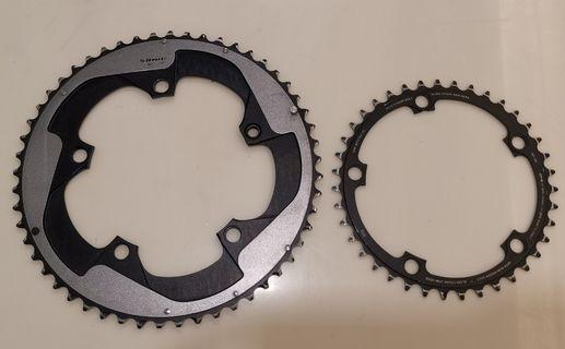 SRAM Red Chainrings 130BCD 53/39T 11-speed