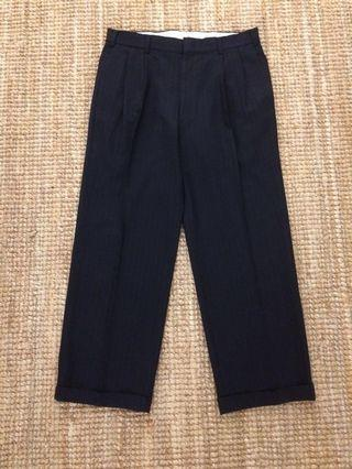 Vintage Brooks Brothers suspender wool pant