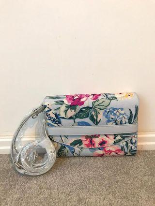 Cath Kidston Clutch & Shoulder Bag with Sling