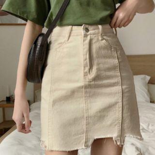Classic AA Joanna Aline Denim Skirt