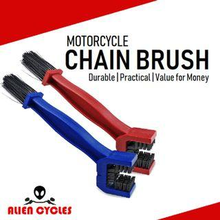 Chain Cleaner Brush for Motorcycles & Bicycles
