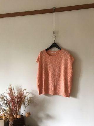 日本KBF 棉麻針織上衣