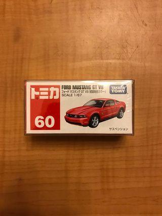 全新未開初回特別限定版 Tomy 60 Ford Mustang GT V8 福特野馬紅色跑車