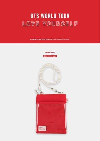 [LF/WTB] BTS LOVE YOURSELF TOUR MINI BAG