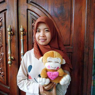 Boneka Monkey Love SNI 22cm