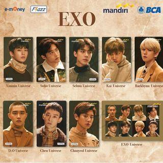 EXO Custom Ezlink Card