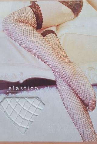超值大特價🎉全新黑色/白色各餘1對,超Sexy,質料舒適,彈性好,顯瘦修腳,中網