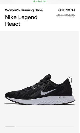 Nike React - Fast Sale (with box)