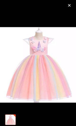 Unicorn Princess Cut Dress