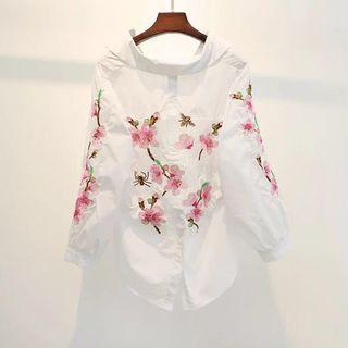 Brand new with tag embroidered blouse