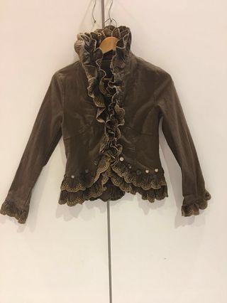 Ruffles Korean style jacket
