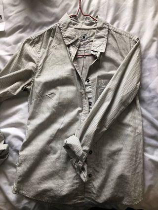 Aritzia Talula Classic cotton shirt