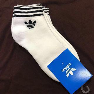 🚚 Authentic Adidas Trefoil Ankle Stripes