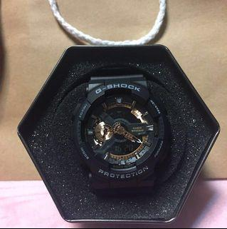 🚚 G-shock手錶霧面黑灰字