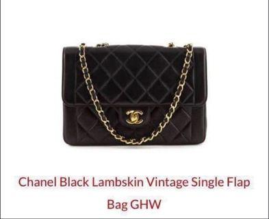 dc19ba16fa44 chanel vintage authentic | Luxury | Carousell Singapore
