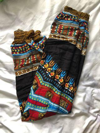 Handmade cotton pants from Kenya