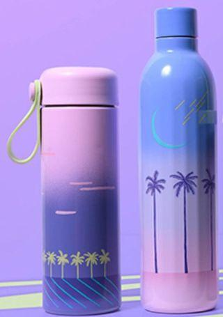 Starbucks Summer Thermal Flask and Stainless Steel Water Bottle