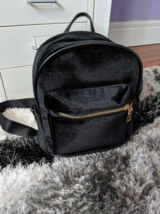 Velvet Mini Backpack