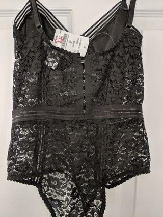 M Boutique Lace Bodysuit