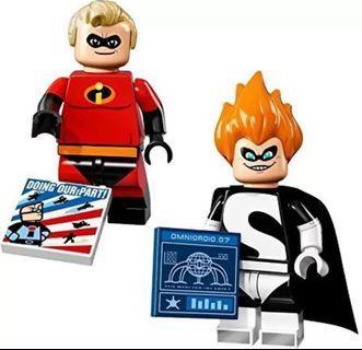 全新 Lego 71012 No.13 & 14 Disney Series 1 Minifigures 71040 71024