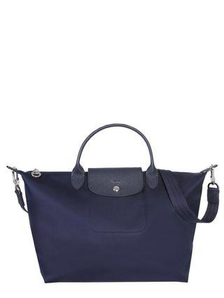 🚚 Longchamp Le Pliage Neo M Tote Bag in Navy