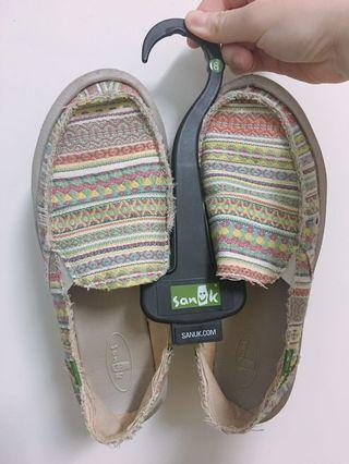 Sanuk圖騰平底鞋