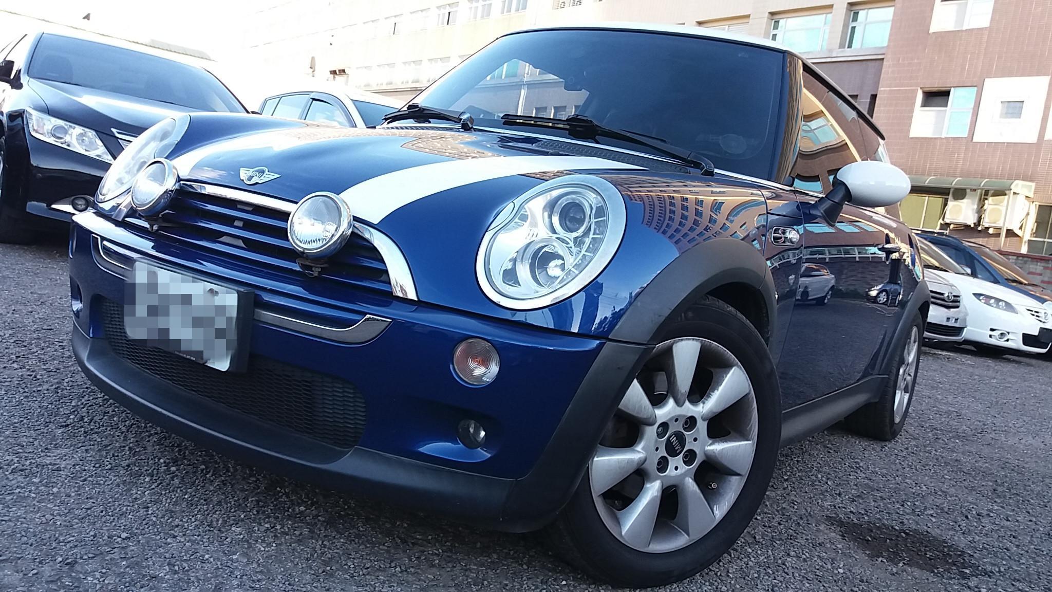 02年 MINI Cooper S 雙門  藍