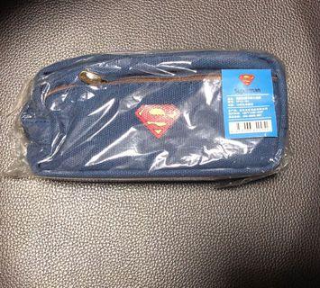 全新Superman不織布筆袋 #freepricing