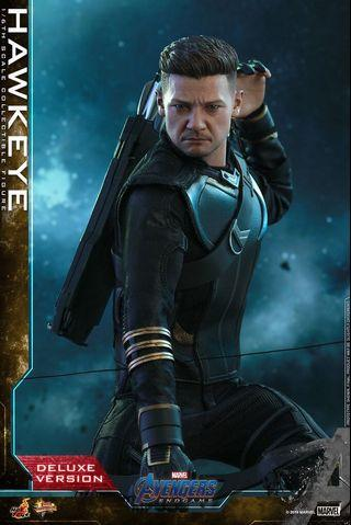 VIP訂單 Marvel Hot toys Endgame - Hawkeye Deluxe Version (MMS532) RONIN 鷹眼
