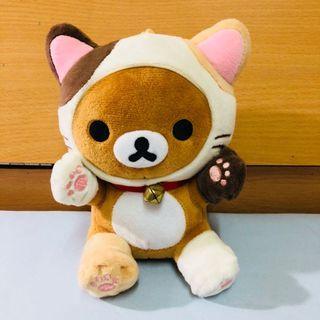 懶懶熊(小) 小貓裝扮 變裝系列 貓腳套 拉拉熊 三麗鷗授權正品