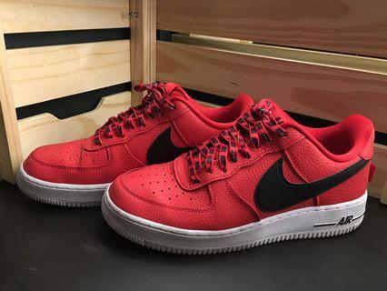 Nike Air Force 1 NBA (Red)