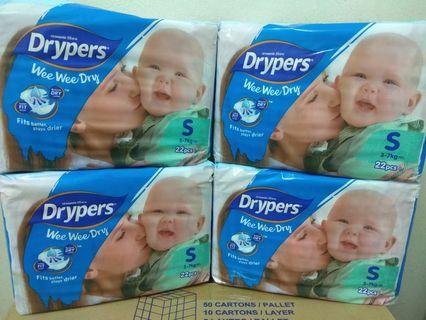 Drypers Size S 22pcs