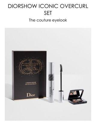🚚 DIORSHOW ICONIC OVERCURL SET The couture eyelook