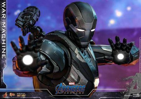 VIP 訂單  Hot toys Avengers Endgame Diecast War Machine 戰爭機器 mms530D31