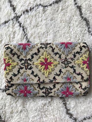 Miss Albright Beaded Clutch from Anthropologie