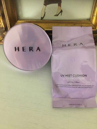 Hera Ultra Moisture Cushion Foundation (Shade C21)
